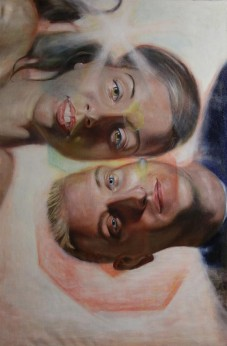 "Benjamin McAfee: Oil on linen painting, ""Forever."""