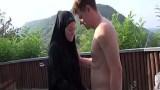 Türbanlı hizmetçi kadın pornosu