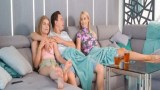 İki kadınla dolu dizgin porno