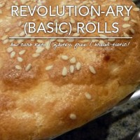 Basic Revolution-ary Rolls - Low Carb and Gluten Free
