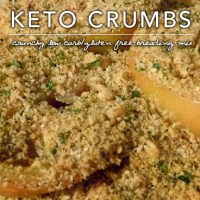 Keto Crumbs - Low Carb Gluten Free Breadcrumb Mix