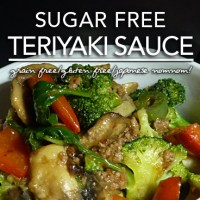 Sugar Free Teriyaki Sauce - Gluten Free | Induction & Page 4 Friendly