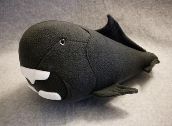 dunkleosteus (prehistoric fish) handmade plush