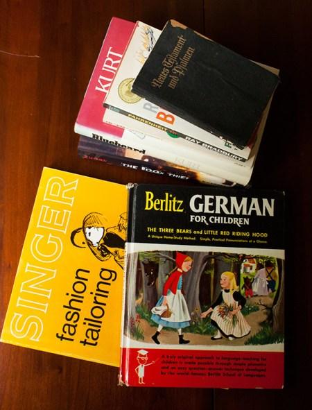 rummage sale books
