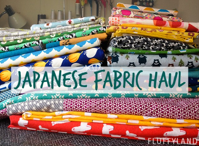 fabric shopping in japan - japanese fabric haul