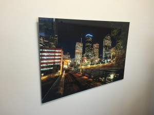 "This 40"" print of Houston is hanging in my office and catches the attention of visitors."