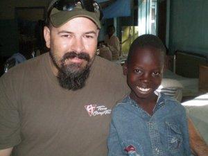 Collins and me Kenya 2009