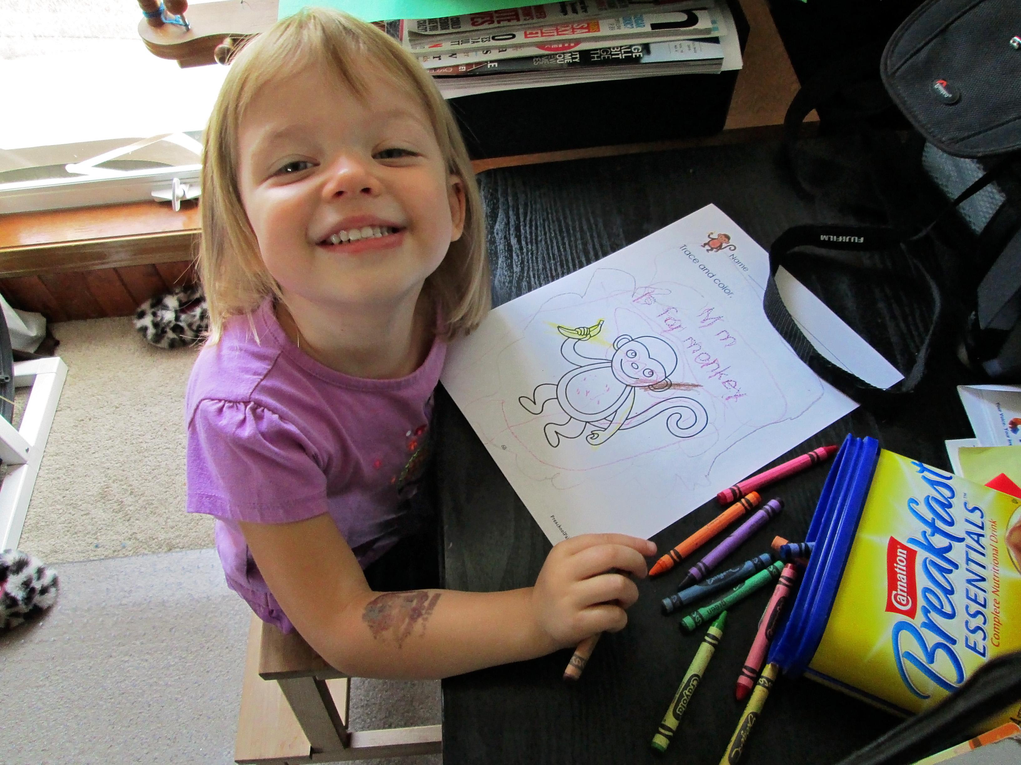 Preschool Week 2 Fluffy Tails Hanspun