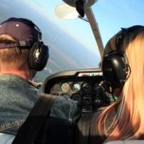 Remoqueur Cockpit im Flug