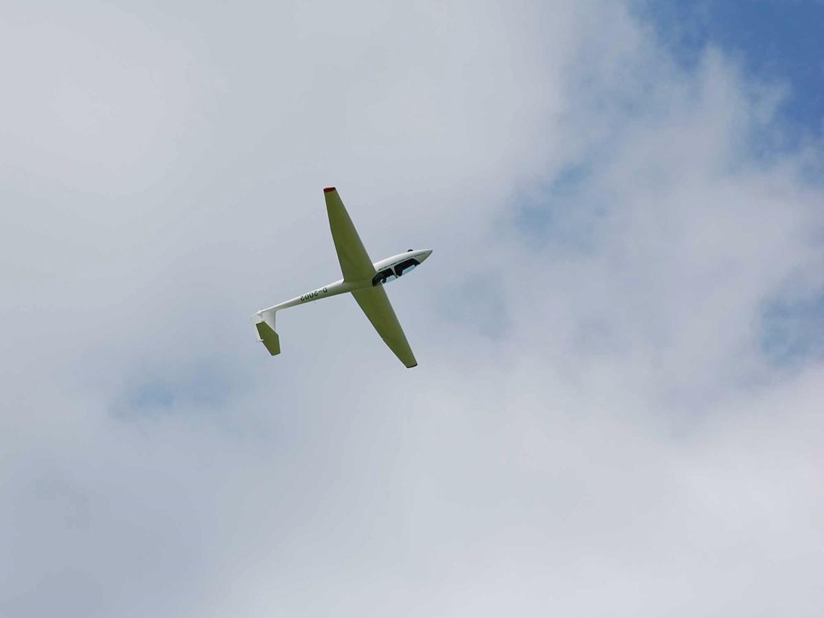 Kunstflug Looping ASK 21