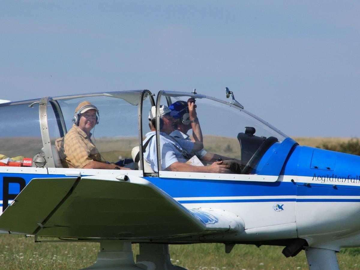 Rundflug Motorflugzeug