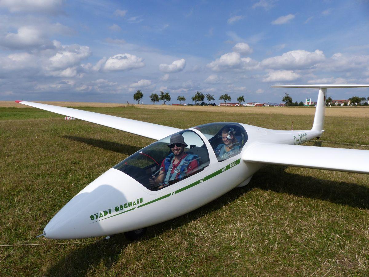 Schnupperflug mit der ASK 21
