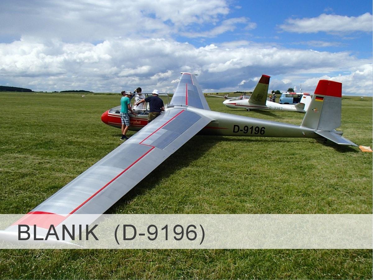 Blanik Let-13 D-9196 Template