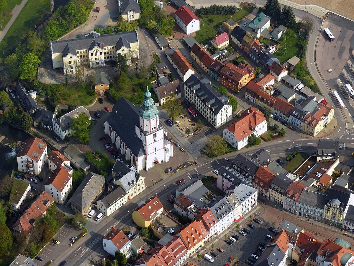 Döbeln Innenstadt Nicolaikirche
