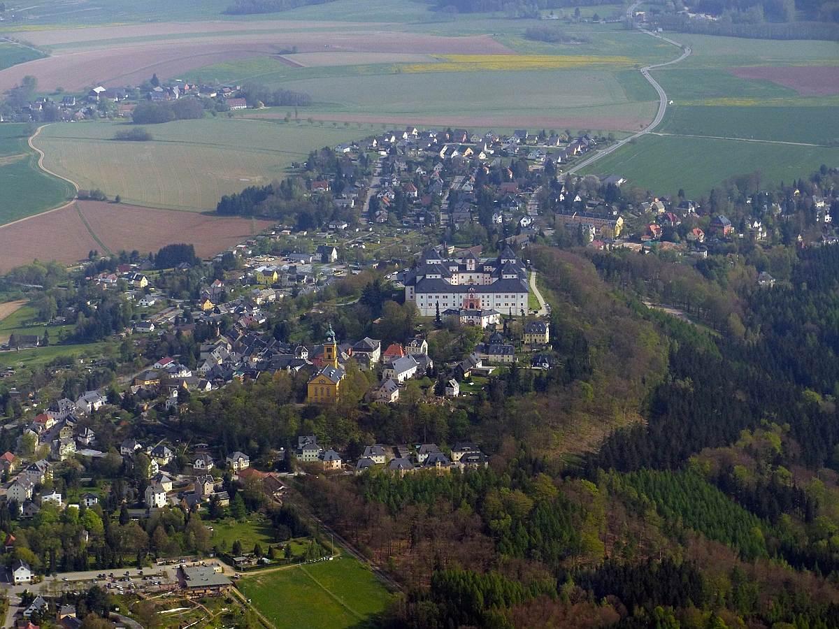 Augustusburg im Erzgebirge bei Chemnitz