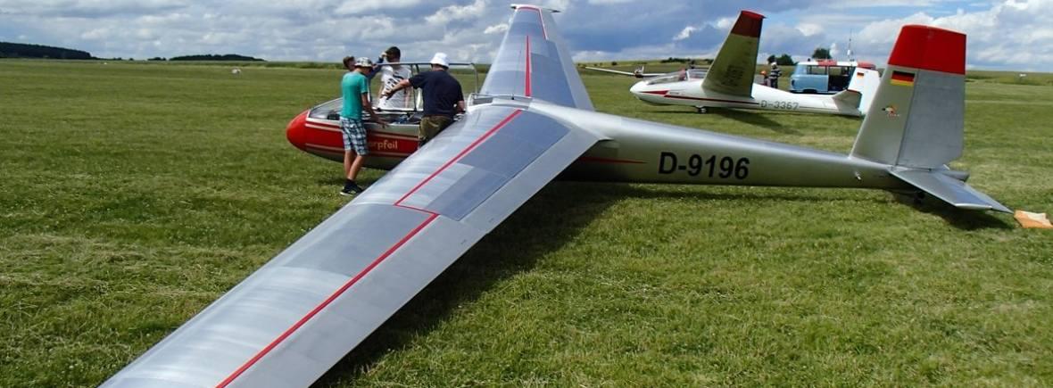 Blanik Let-13 D-9196 in Oschatz