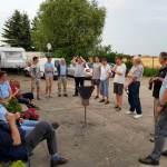 Briefing beim Fliegerclub Oschatz