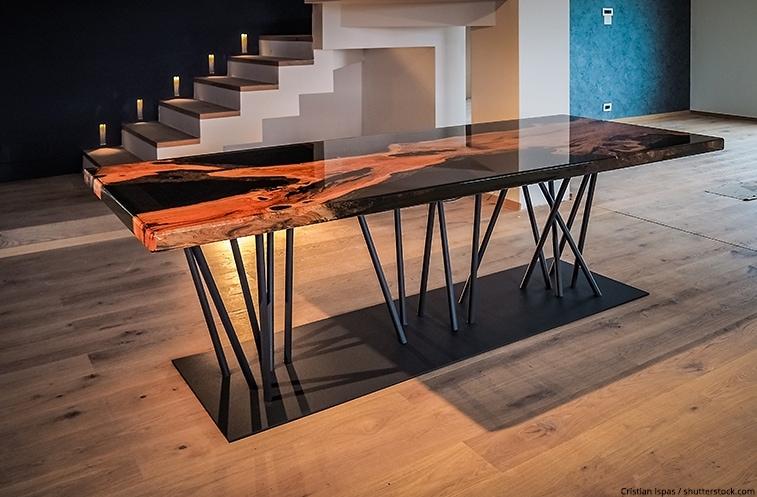 table bois resine epoxy faites votre