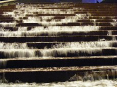 Flowing stairs