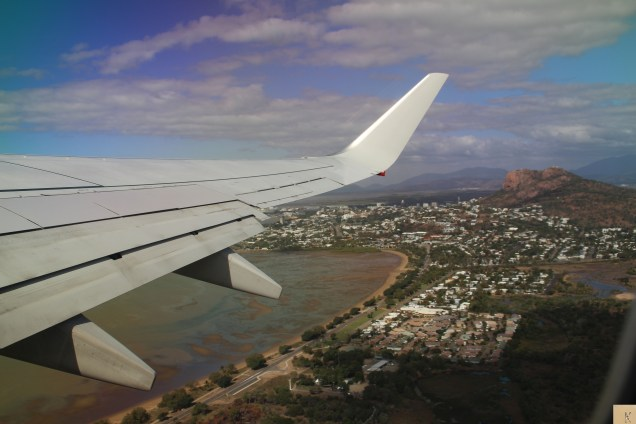 Flyng out of Townsville