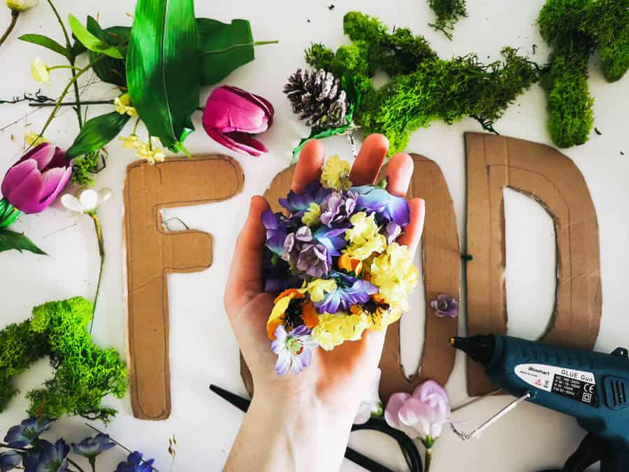floral-letters-diy-hund-futter
