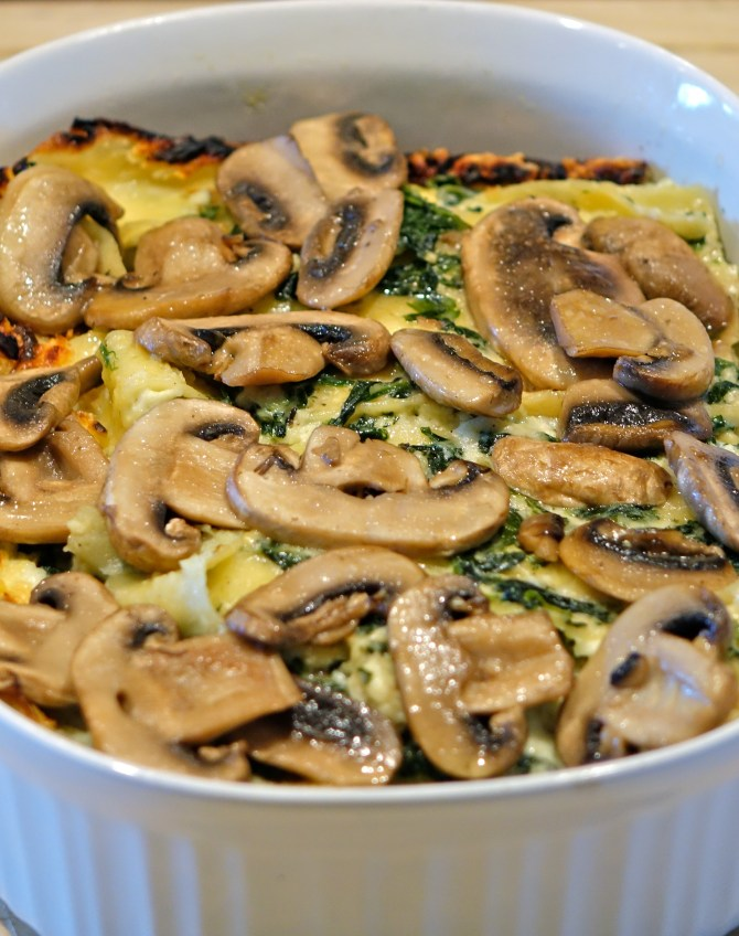 The Best Spinach and Kale Lasagna Recipe!