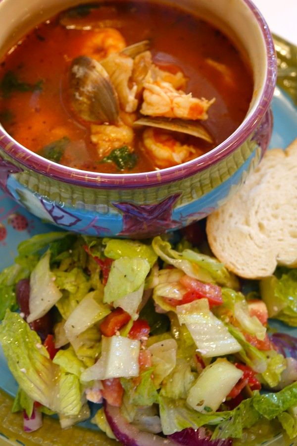 The World's Best Cioppino Soup  (Fish Stew!)