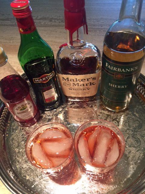 "~ A Sinatra Era Cocktail ~ ""Nick's Death Defying Drink"""