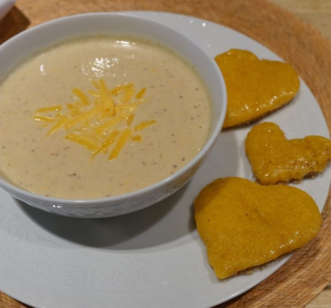 The Best Roasted Cauliflower Soup Ever (With Cheese Toast)