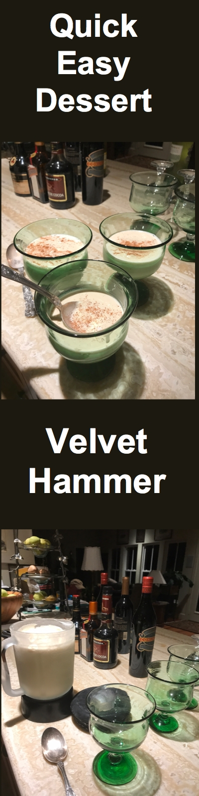 The Best Velvet Hammer(Fabulous Ice Cream Dessert!)