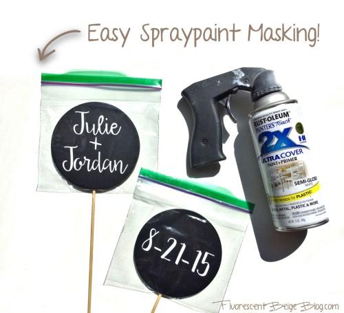 Spray Paint Masking