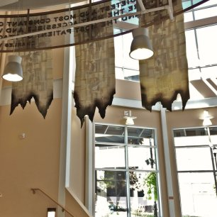 Banners lobby view back