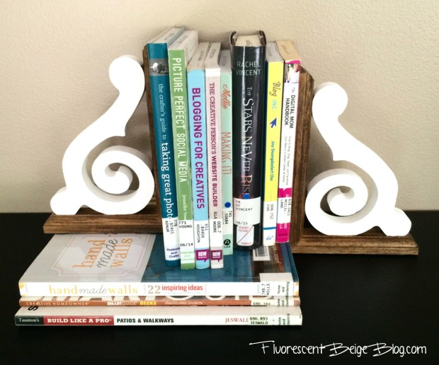Wood Bookends Stack