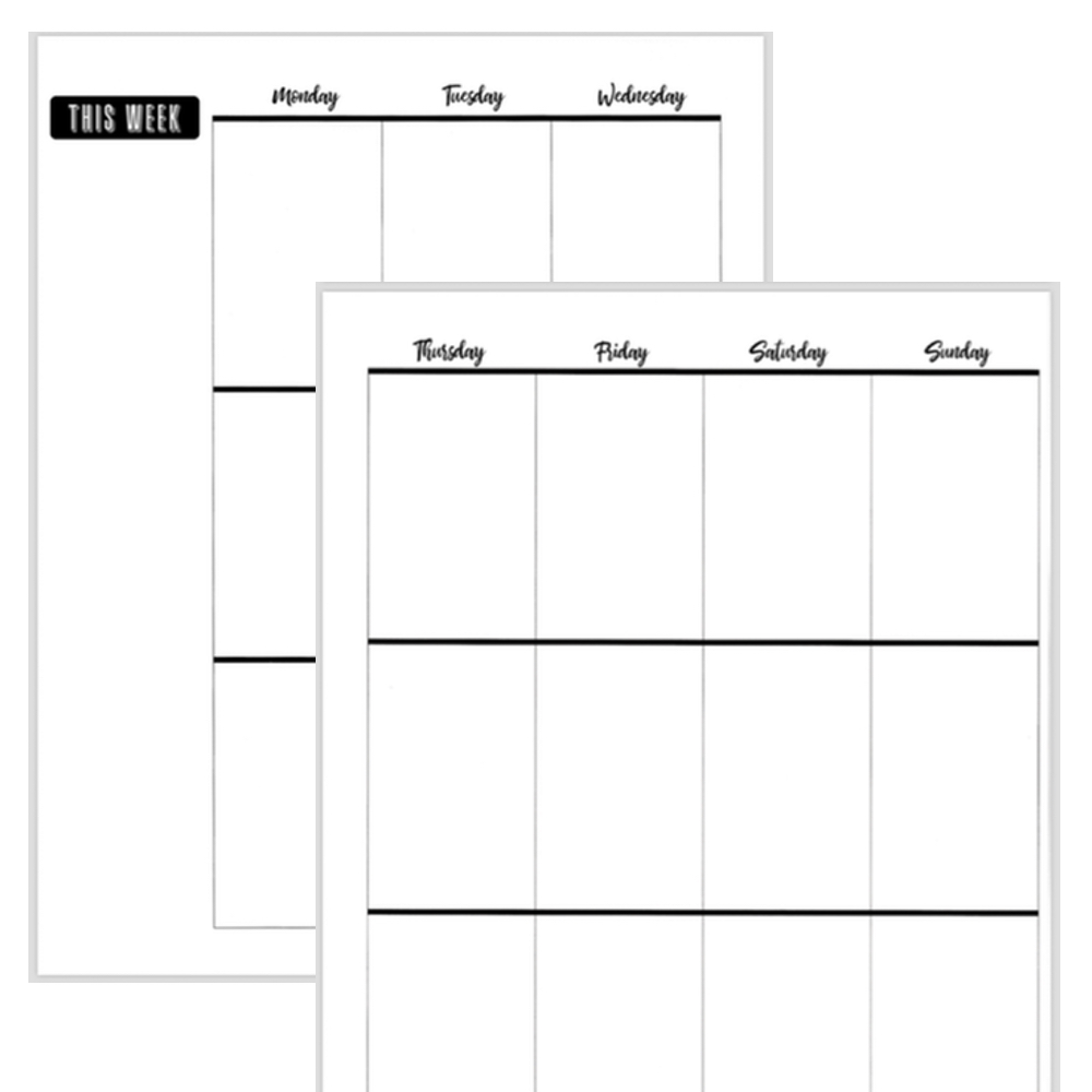 photo regarding Happy Planner Printable Calendar Pages identified as Free of charge Printable Substantial Content Planner Established! - Fluorescent Beige