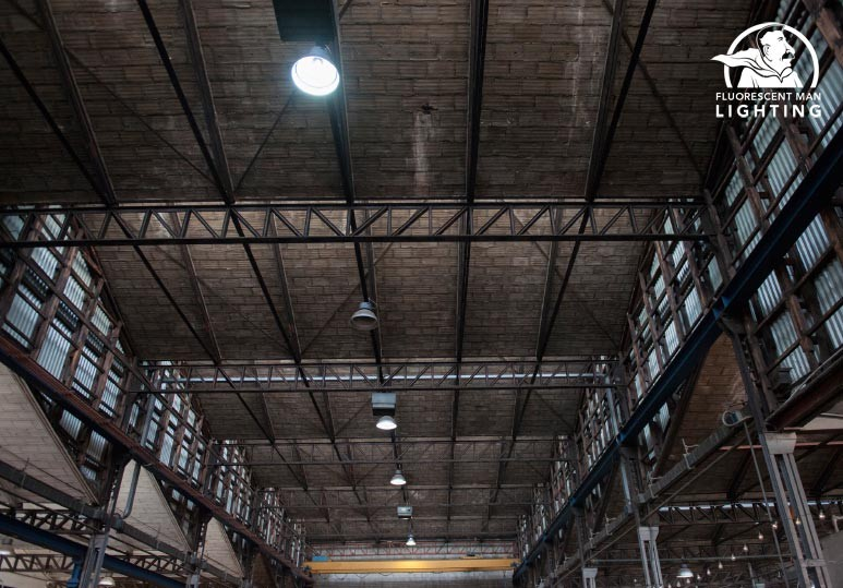 calgary lighting installation high bay