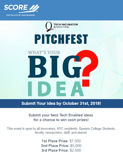 Tech Incubator PitchFest