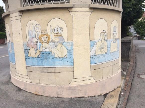 In Bad Ragaz lässt sich gut baden.