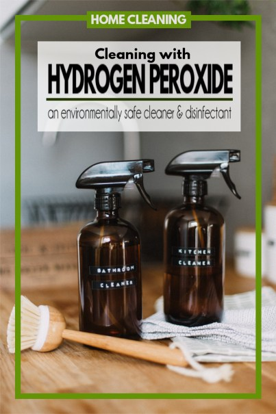 Introducing an inexpensive, odorless, environmentally friendly, home cleaning disinfectant, hydrogen peroxide.
