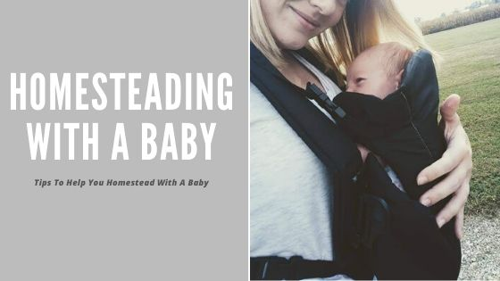 Homesteading With A Baby