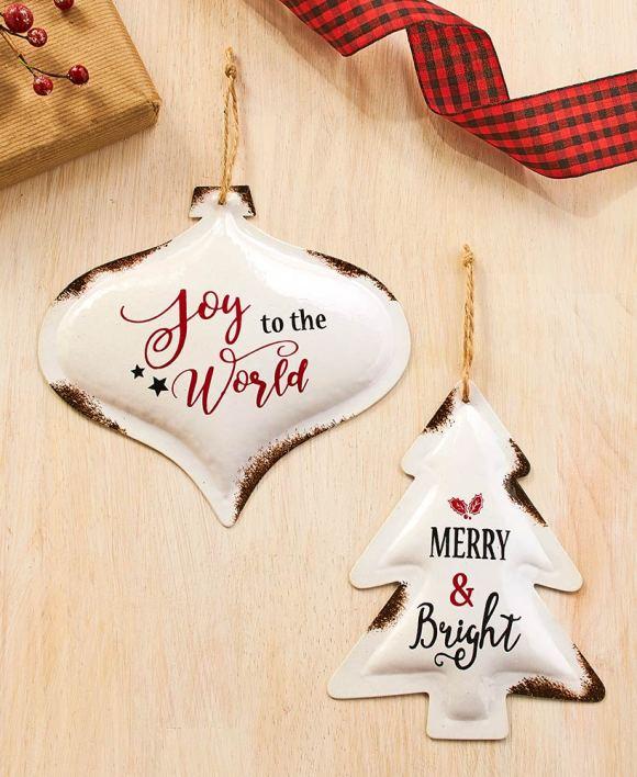 Enameled Ornaments