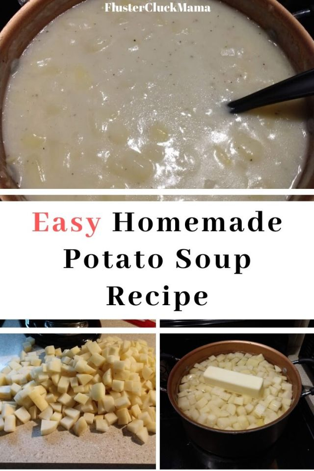 Easy Homemade Potato Soup