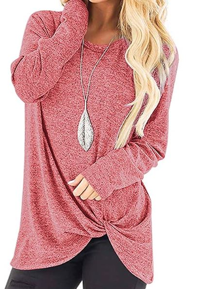 Women's Loose Knot Pullover