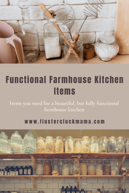 Functional Farmhouse Kitchen