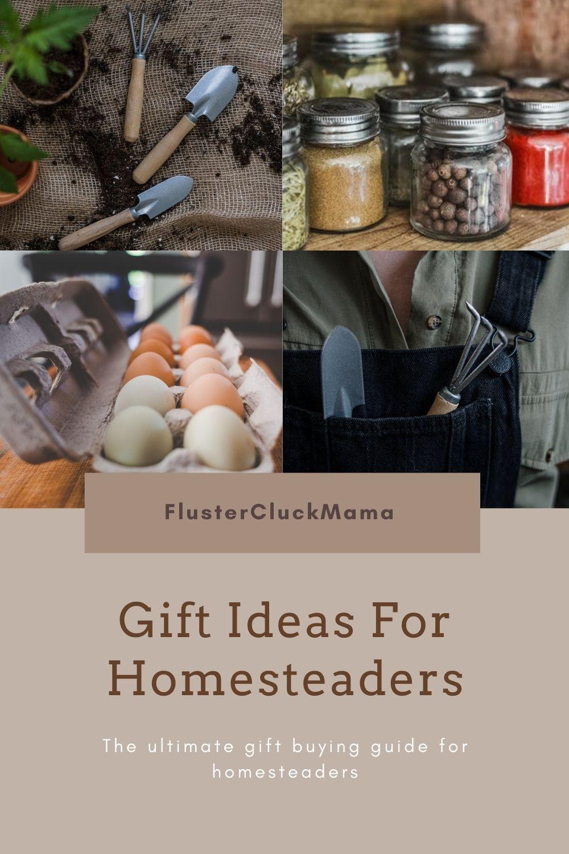Gift Ideas For Homesteaders