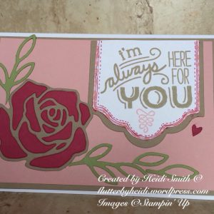 Pootlers Design Team Friendly Wishes stampin up uk