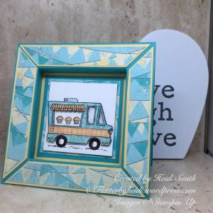 Shadow box card by Heidi Smith Flutterbyheidi Stampin Up uk demonstrator