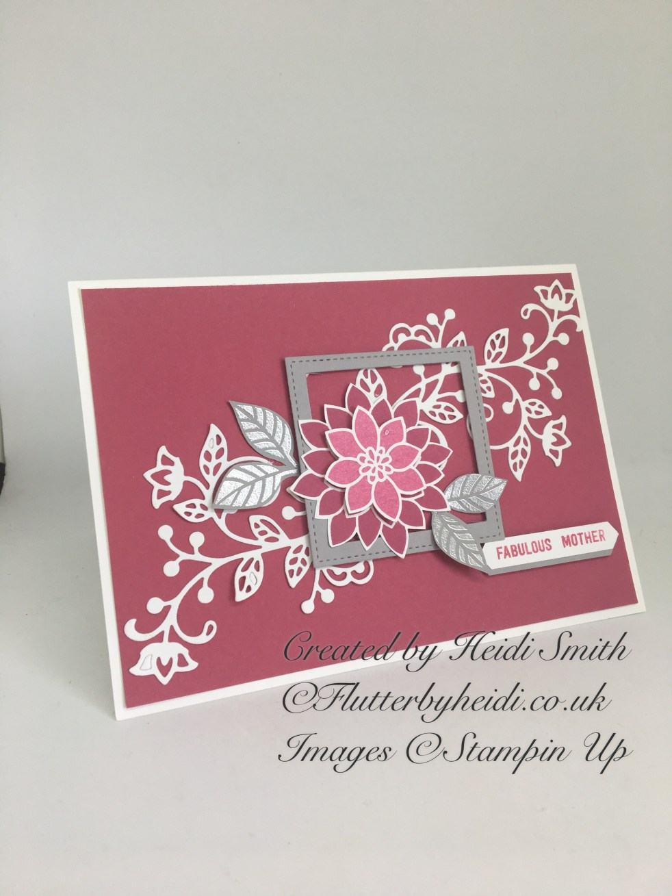 Mothering Sunday or Mother's Day Card by Flutterbyheidi