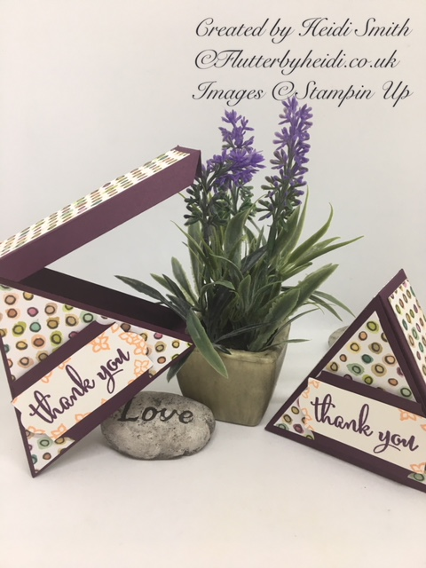 Triangle treat box by Flutterbyheidi