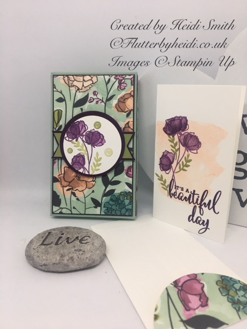 Narrow notecards and gift box by Flutterbyheidi