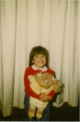 I was probably about 4 or 5 years old in this picture.